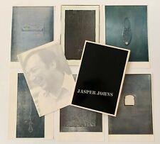 Jasper Johns Lead Reliefs Gemini G.E.L. Catalog 1969 Portfolio Book Print Rare