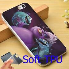 LITTLE MERMAID VILLAINS URSULA IPHONE 7 CASE NEW!