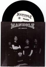 """Manhole """"Victim"""" 7"""" OOP NM Tura Satana Human Waste Project Deftones Korn"""