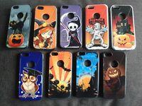 Custodia cover particolare Halloween in silicone tpu per Apple Iphone SE 5 5s