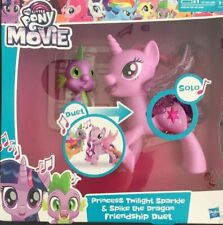 My Little Pony Princess Twilight Sparkle and Spike the Dragon Friendship Duet