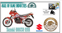 SUZUKI MOTORCYCLE HALL OF FAME COV, 1991 DR650