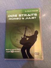Dire Straits Romeo & Juliet - 10 Minute Teacher - Guitar Tutorial DVD