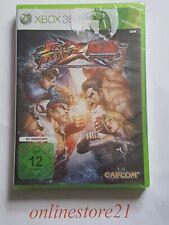 Street Fighter X Tekken Xbox 360 Neuf Allemand
