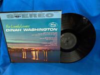 Dinah Washington LP For Lonely Lovers Mercury SR 60614 Rare Stereo
