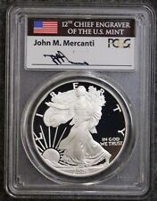 2006 W PROOF SILVER EAGLE FROM 20th ANNIVERSARY SET PCGS PR70 DCAM MERCANTI