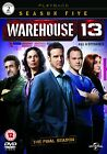 WAREHOUSE 13 Stagione 5 Serie Completa BOX 2DVD in Inglese NEW .cp