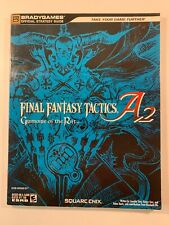 Final Fantasy Tactics A2 : Grimoire of the Rift Square Enix/BradyGames Like New!