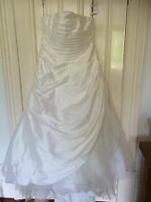 Brand New Special Day Wedding Dress Size 24 Taffeta/Tulle