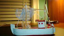 Vintage Wooden Fishing Schooner ,Sailship-Boat