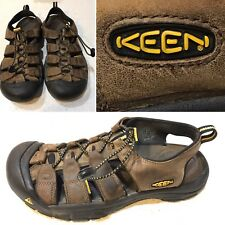 KEEN NEWPORT BISON WASHABLE/WATERPROOF LEATHER SPORT SANDAL Mens SZ 9.5