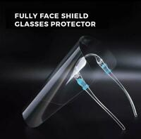 SAFETY FACE SHIELD PROTECTION COVER GUARD REUSABLE GLASSES NON-MEDICAL