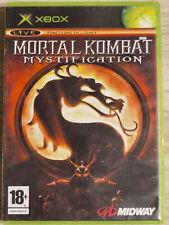 MORTAL KOMBAT MYSTIFICATION XBOX (XBOX 360 ONE S X SERIES X)