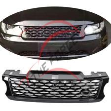 1pcs Black Front Grilles Grill Fit For Land Rover Range Rover Sport SVR 2014-16