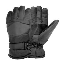 Igloos Womens Thermal Winter Ski Gloves - Black (M)