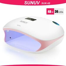 SUNUV SUN4S/4 Nail Lamp 48W UV LED Nail Dryer for Curing Gels Polish With Smart