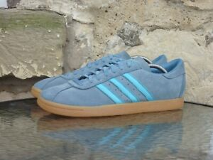 2014 Adidas Originals Tobacco UK10.5 / US11 Blue Suede Gum Island Series Rare