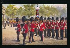 Artist HARRY PAYNE Grenadier Guards Saluting the Colours Tuck Oilette #3546C PPC