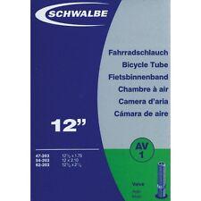 Schwalbe AV1 Cámara De Aire - 12 1/2 x 2 1/4 - 40mm Válvula Schrader