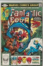 *** MARVEL COMICS FANTASTIC FOUR #242 TERRAX SPIDERMAN THOR IRON MAN VF ***
