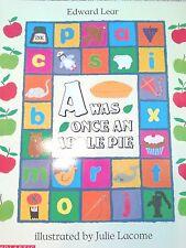 Teacher Big Book A WAS ONCE AN APPLE PIE Shared Readin ABC BOOK Kindergarten 1st