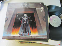 Axe Nemesis nm LP 1983 germany w/Lyrics metal 7900991 atco original vinyl rare!