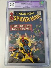 Amazing Spider-Man 27 CGC 9.0 Restored Green Goblin