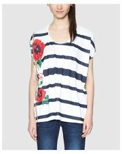 Maglie e camicie da donna a manica corta a barchetta taglia XL