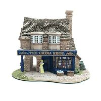 Lilliput Lane- The China Shop- 740- 1995 - BOXED WITH DEEDS