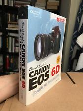 David Busch's Canon EOS 6D Guide to Digital SLR Photography BOOK pb photo camera