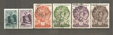 Soviet  Union 1935;1941y.Sc#569-572;850-851.Two full sets ,6 used stamps .