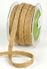 1/2 Inch Woven / Burlap Ribbon select color price for 1 yard