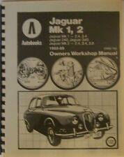Jaguar Mark I & II 2.4, 3.4 & 3.8 Shop/Service Manual - Brand New!