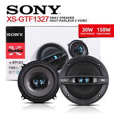 "NEW SONY XS-GTF1327 13CM 5"" 2-WAY CAR AUDIO SPEAKERS PAIR XSGTF1327"