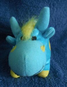 *2116* Blue Cow / Bull - Elka – plush – 17cm
