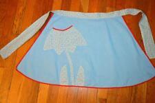New listing Womens Half Apron Handmade Darling Flower Pocket Quality Fabric
