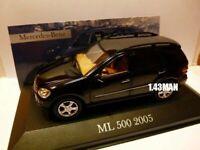 MER3E voiture 1/43 ixo altaya MERCEDES : ML500 2005