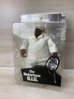 "2006 MEZCO THE NOTORIOUS B.I.G. BIG 9"" HIPHOP RAP Beige SUIT FIGURE NIB RARE"