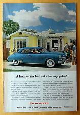 Vintage Magazine Print Ad 1948 Studebaker Land Cruiser
