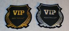 Vip Hospitality Blazer Jacket Robe Sale Bar Hotel Resort Patch Uniform Service