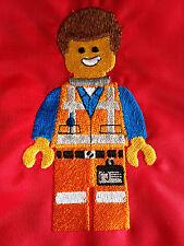 personalizzato Lego Emmet SCUOLA / PE /PALESTRA/bambino/