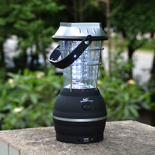 Solar 36 LED Lantern Outdoor Bright Rechargeable Camping Light Hand Crank Dynamo