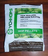 NELSON SAUVIN HOPS HOP PELLETS 1oz FACTORY PACKED IN NITRO FOR HOME BREWING KIT