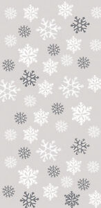 20 x Christmas Loot bags Snowflakes Party treat favour bags Frozen bags