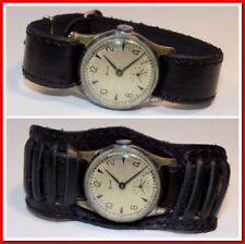 Rare montre ancienne mécanique homme Zim, bracelet neuf,  1951 #43192