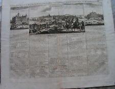 SCHWEDEN  Stockholm Kupferstich CHATELAIN um 1720