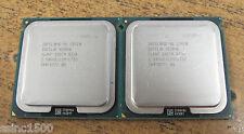 Pair Intel Quad-Core Xeon L5420 771 CPU 2.5GHz 12M 1333MHz SLARP