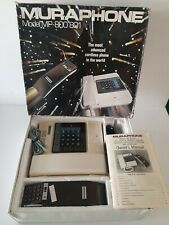 New Open Box  MURAPHONE MODEL # 800/801 AKA Miami Vice Phone Vintage Never Used!