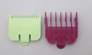 Wahl Clipper Guard Attachment Combs ½ 0.5 (Half) + 1½ 1.5 (One & Half) SET