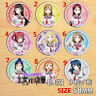 "T1196 Anime lovelive Sunshine badge Pin button Cosplay 5.8CM(2.3"")"